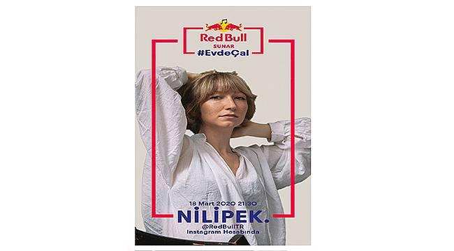 Red Bull Sunar: Evde Çal konserler serisinin ilk konuğu Nilipek. oldu