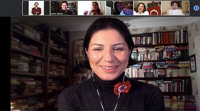 İZİKAD'ın konuğu: tarih anlatıcısı Pınar Ayhan