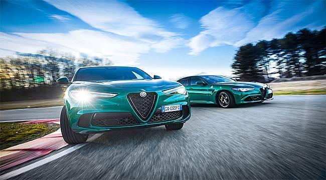 Alfa Romeo, yenilenen Giulia ve Stelvio Quadrifoglio'yu tanıttı