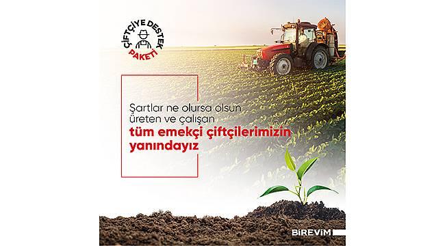 """Birevim'den Dünya Çiftçiler Günü'nde """"Çiftçi Destek Paketi"""""""