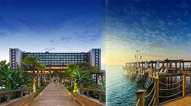 Concorde Luxury Resort kapılarını açmaya hazırlanıyor