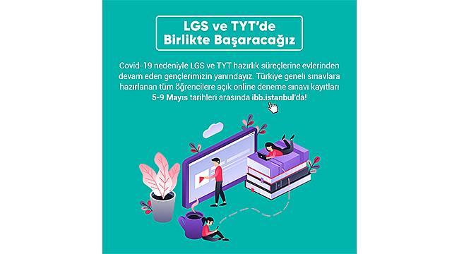 İstanbul Büyükşehir Belediyesi'nden öğrencilere online sınav desteği