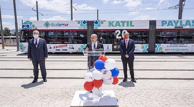İzmir Metrosu 20 yılı geride bıraktı