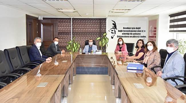 MASKİ, AK Parti Manisa Milletvekili Uğur Aydemir'i ağırladı