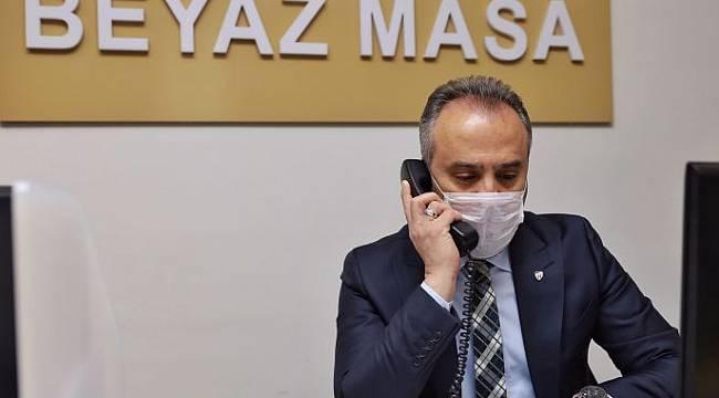 Pandemiyle mücadelede Bursa Büyükşehir Belediyesi farkı
