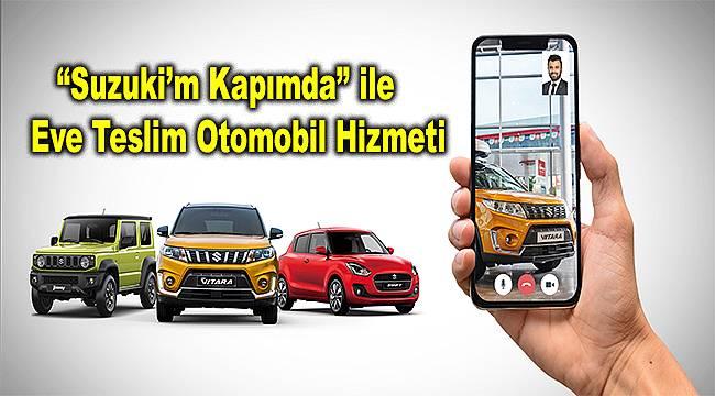 """Suzuki Türkiye'den """"Suzuki'm Kapımda"""" uygulaması"""