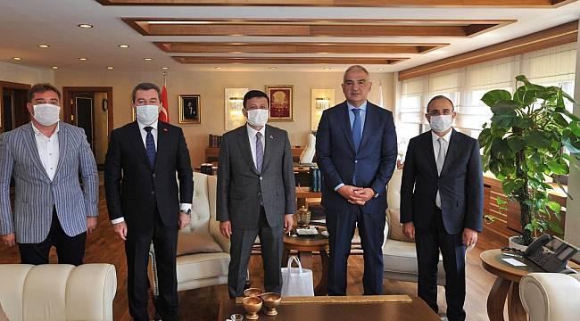 Başkan Koştu Bergama için Ankara'da