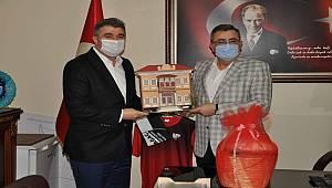 Başkan Tosun'dan Kırkağaç'a hizmet ziyareti