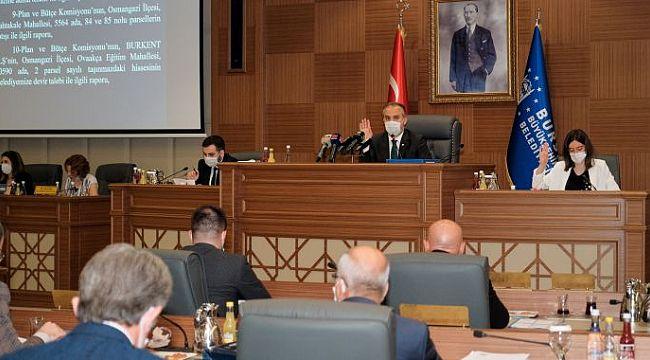 Bursa Büyükşehir Belediyesi'nin 2019 faaliyet raporuna onay
