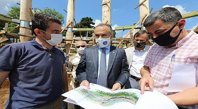 Bursa'da 4 asırlık bir eser daha gün yüzüne çıkıyor