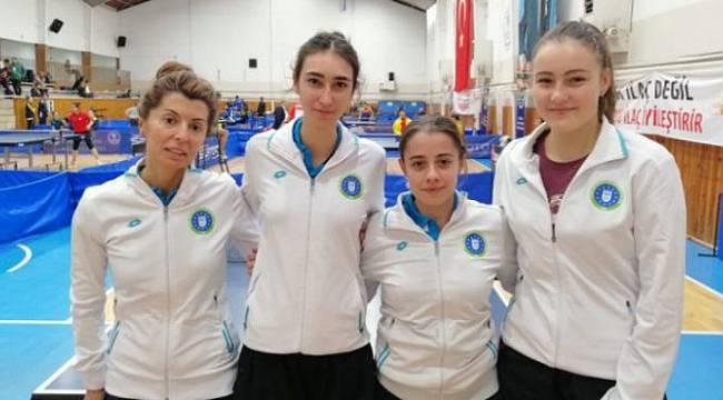 Kadınlar Masa Tenisi Süper Ligi'nde şampiyon belli oldu