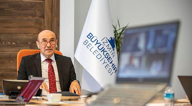 """Tunç Soyer, Rus kanalı IZ.RU TV'ye konuştu: """"Turizmde önceliğimiz İzmir'in güvenli olduğunu göstermek"""""""