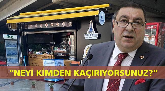 AK Partili Boztepe'den Büyükşehir'e büfe tepkisi: Usulsüzlük yapılıyor!