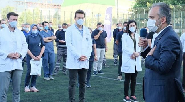 Bursa Büyükşehir Belediyesi, kötü gün dostu olduğunu gösterdi