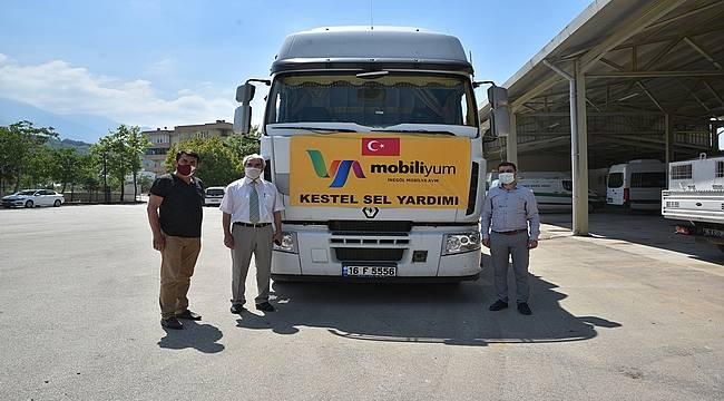 Bursa Büyükşehir'in yardım seferberliğine iş dünyasından destek