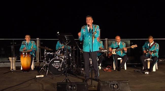 Uludağ'ın zirvesinde muhteşem konser