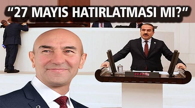 AK Partili Kırkpınar'dan Soyer'in 'Demokrasi bazılarına bol geliyor' sözüne sert tepki!