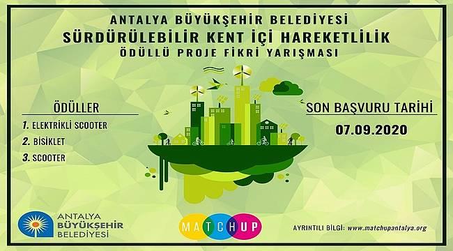Antalya Büyükşehir Belediyesi'nden ödüllü yarışma