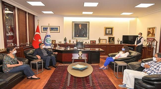 Esenyurt Belediye Başkanı Eskişehir'i ziyaret etti