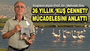 Gediz Deltası'ndaki İzmir Kuş Cenneti'ni Yaşatma Mücadelesi