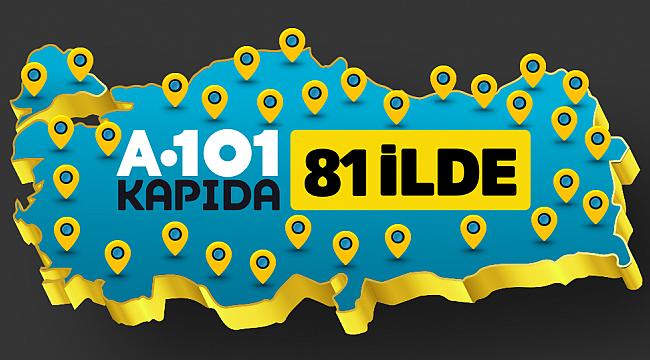 A101 Kapıda uygulaması: Şimdi Türkiye'nin 81 İlinde
