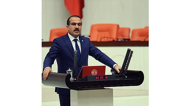"""AK Partili Kırkpınar'dan CHP'lilere """"sessizlik"""" tepkisi"""
