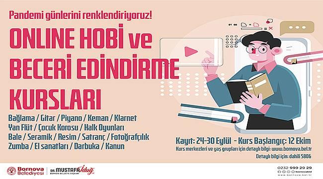 Bornova'da online Hobi Kursu dönemi
