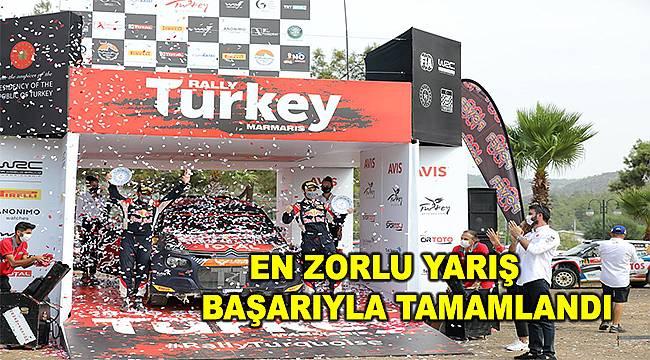 Dünya Ralli Şampiyonası'nın Türkiye ayağı tamamlandı