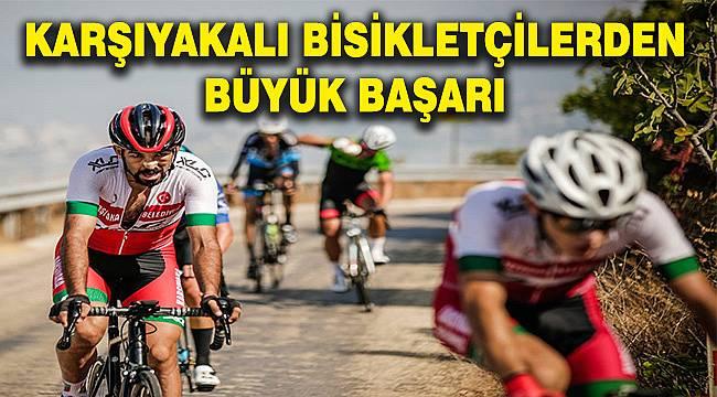 Karşıyakalı sporculardan 'GranFondo Ulusal Bisiklet Yarışı'nda önemli başarı