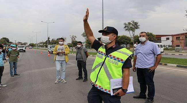 Manisa Büyükşehir ve Jandarma Trafik'ten Örnek İşbirliği