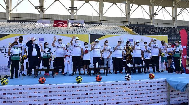 Manisa'da Avrupa Spor Haftası Etkinliklerinin Açılışı Yapıldı