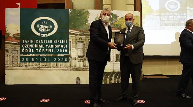 Tarihi Kentler Birliği'nden Eskişehir'e bir ödül daha