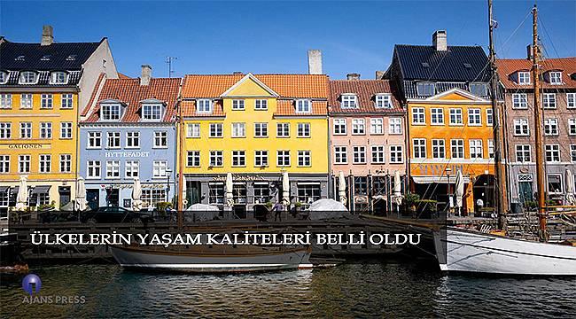 Ülkelerin yaşam kaliteleri belli oldu! Türkiye yaşam kalitesi bakımından...