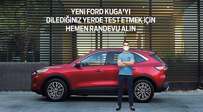 """Yeni Ford Kuga ve Puma'yla """"Ford Kapında"""" test sürüşleri başlıyor!"""