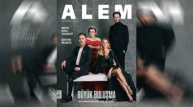 ALEM dergisi 'Menajerimi Ara' dizisinin sahnelerine konuk oldu
