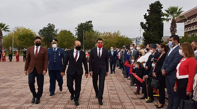 Aliağa'da Cumhuriyet Bayramı coşkusu
