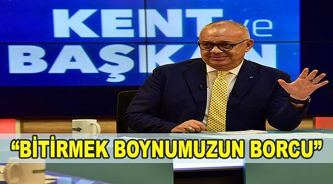 Başkan Ergün: Manisa'nın gelecek 30-35 yılını planlıyoruz