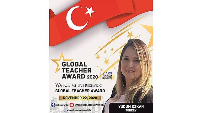 Bilişim Öğretmenine Hindistan'dan Küresel Ödül
