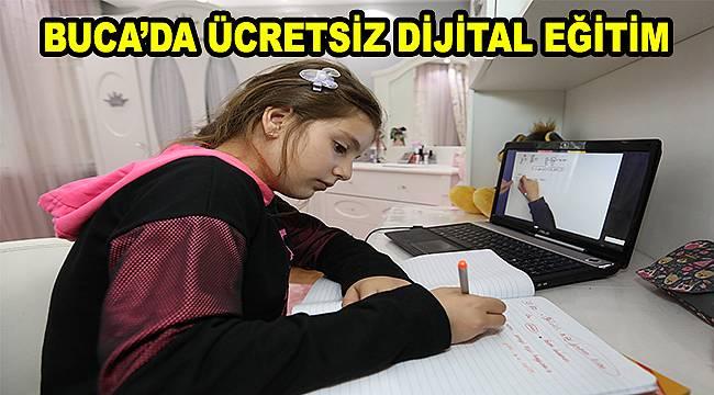 Buca Belediyesi 'Dijital Dershane' projesini başlattı