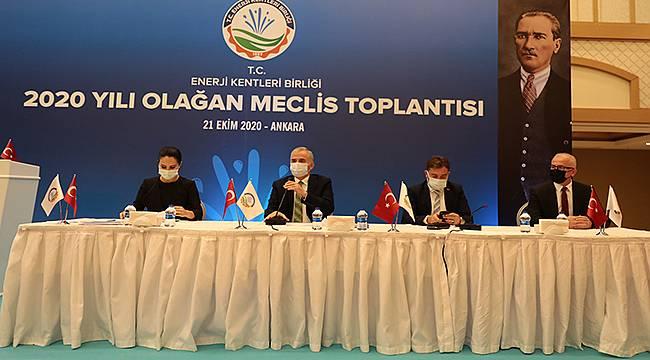 Enerji Kentleri Birliği '2020 yılı Olağan Meclis Toplantısı' Ankara'da yapıldı
