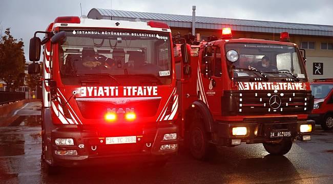İstanbul Büyükşehir Belediyesi yardım ekibi İzmir'e hareket etti