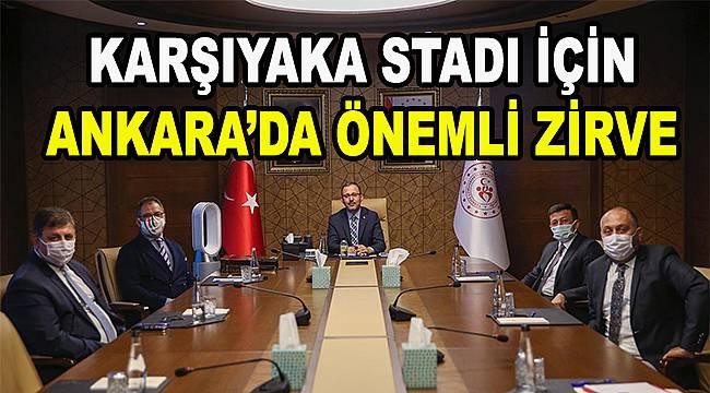 Karşıyaka Stadı için somut adımlar