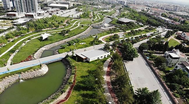 Manisa'da hedef: 60 Bin Metrekare Daha Yeşil Alan