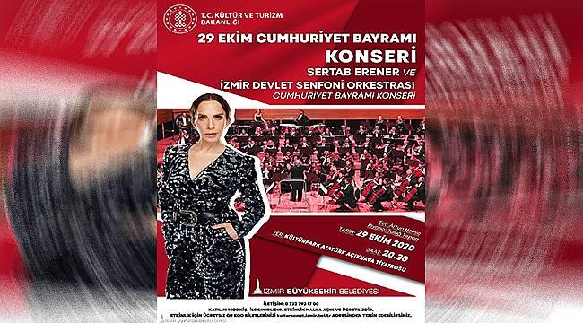 Sertap Erener'le 97. Yıl Cumhuriyet Konseri