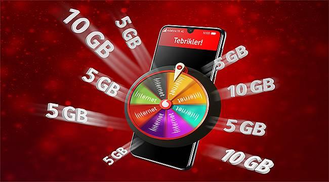 Vodafone, Hediye Çarkı ile kazandırmaya devam ediyor