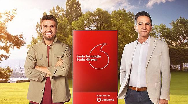 Vodafone'un yeni reklam yüzü, sevilen sanatçı Aras Bulut İynemli oldu