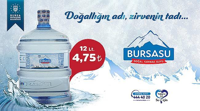 Büyükşehir'in yeni markası: 'Bursa Su'