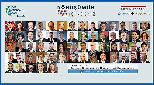 Ege Ekonomik Forumu 4'üncü kez düzenleniyor