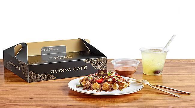 Godiva Café'nin Harika Lezzetleri Artık Adresinize Geliyor!