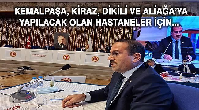 İzmir Milletvekili Kırkpınar, Sağlık Bakanı Koca'dan destek istedi